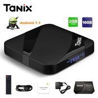 Tanix TX3 Max TV Box Android 7 1 Amlogic S905W With New ALICE UX 2GB RAM