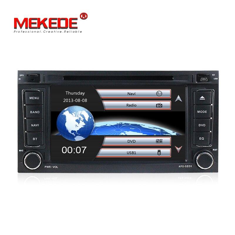 7 pouces 2din Voiture stéréo autoradio navigation GPS NAVI lecteur DVD pour VW Volkswagen Touareg/Transporteur T5 Multivan 2002-2010