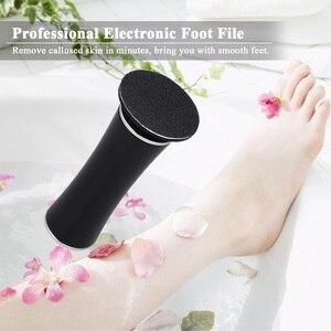 Image 5 - חשמלי פדיקור רגל טיפול כלי קבצי פדיקור יבלת מסיר נטענת ניסור קובץ עבור רגליים עור מת יבלת לקלף Remover