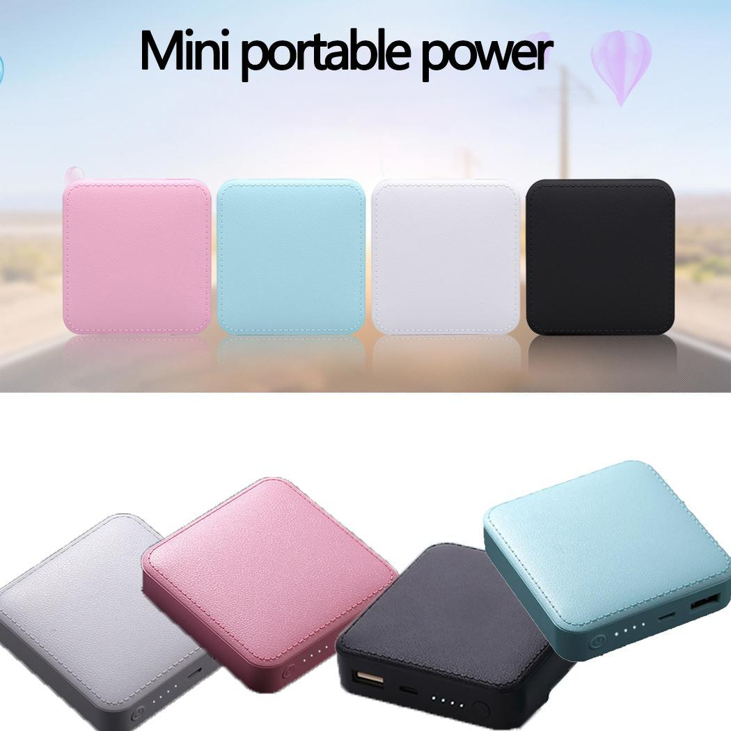 20000 mah Ultra-thin Mini Portable Power Bank Mobile Phone Charger Powerbank For iPhone Samsung Xiaomi Huawei Power Bank Charger