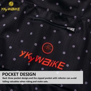 Image 3 - YKYWBIKE الدراجات سترة الرجال الشتاء ملابس مضادة للماء الحرارية جاكيت من الصوف طويلة الأكمام عالية الجودة مع 10 درجة مئوية المدى