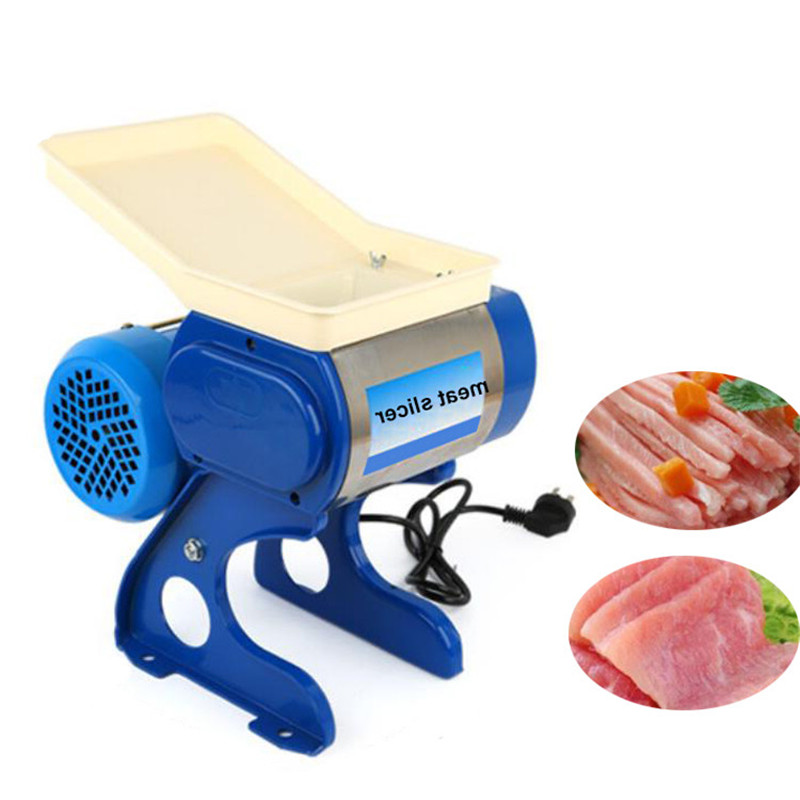 BEIJAMEI Stainless Steel Small Home Blade Meat Slicer Mincer Electric Commercial Meat Grinder Cutting Machine blade for meat cutting machine food processors with blade knife for commercial or home use qw