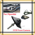 Wholesale Newest Auto Waterproof HD CCD Night vision Car  Front View camera For Hyundai Parking assist System Free Shipping