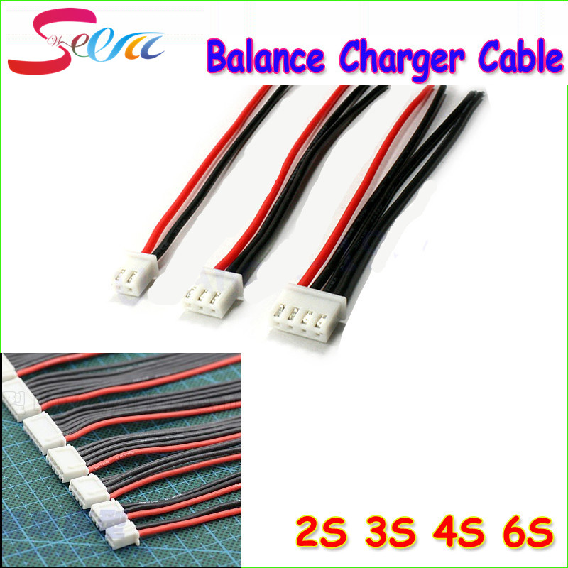 1pcs 2S 3S 4S 5S 6S Balance Charger Cable Lipo Battery Balance Charger Cable For IMAX B3 B6 Connector Plug Wire 5pcs ab clip ab battery balance plug for 2s 3s 4s 5s 6s lipo battery balance plug connector protector