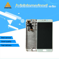 Axisinternational LCD Screen Display Touch Panel Digitizer With Frame For 5 5 Meizu M5 Note White