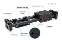 Retractable mini portable travel Camera Slider double distance smooth slider for DSLR camera digital camera video film shooting