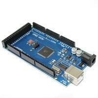 1pcs Lot Mega 2560 R3 Mega2560 REV3 ATmega2560 16AU CH340G Board ON USB Cable Compatible For