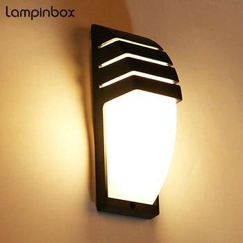 Led Indoor Outdoor Wasserdichte Wand Lampe Moderne Aussen Aussen