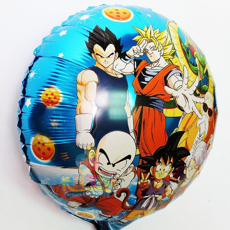 10pcs Classic Toys Anime Dragon Ball Z Balloons Son Goku Battle Genki Birthday Party Decoration Kid Christmas Gift In From