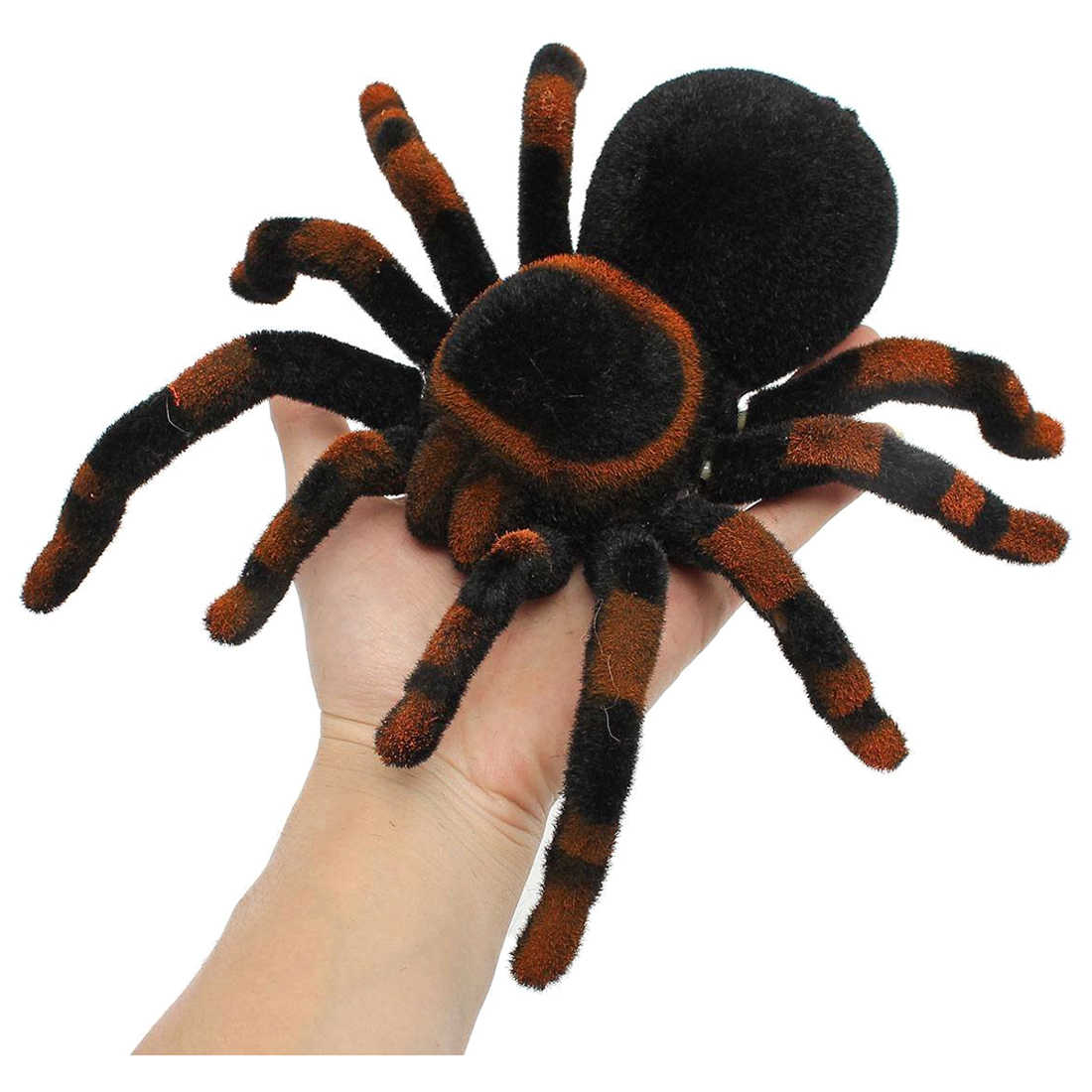 "Abwe Terbaik Sale 8 ""RC Remote Control Spider Remote Control Spider Mainan Hadiah Dekorasi Raksasa Laba-laba Tarantula"