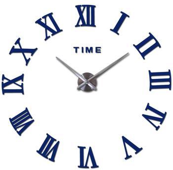 special offer 3d big acrylic mirror wall clock diy quartz watch still life clocks modern home decoration living room stickers 13