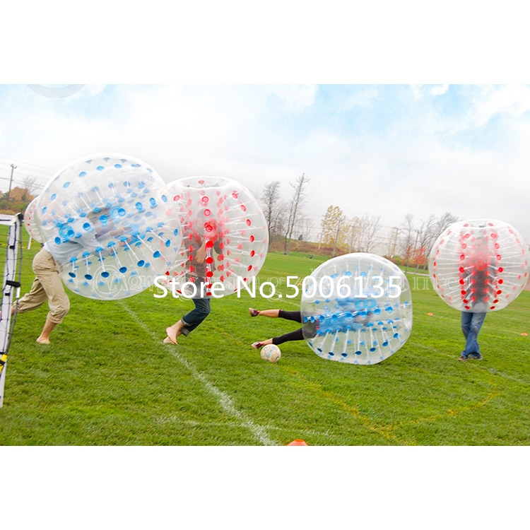 Antistress Air Bubble Soccer Zorb Ball stress relief toys 1.0m for children Air Bumper Ball Inflatable Football,Zorb Ball - 6