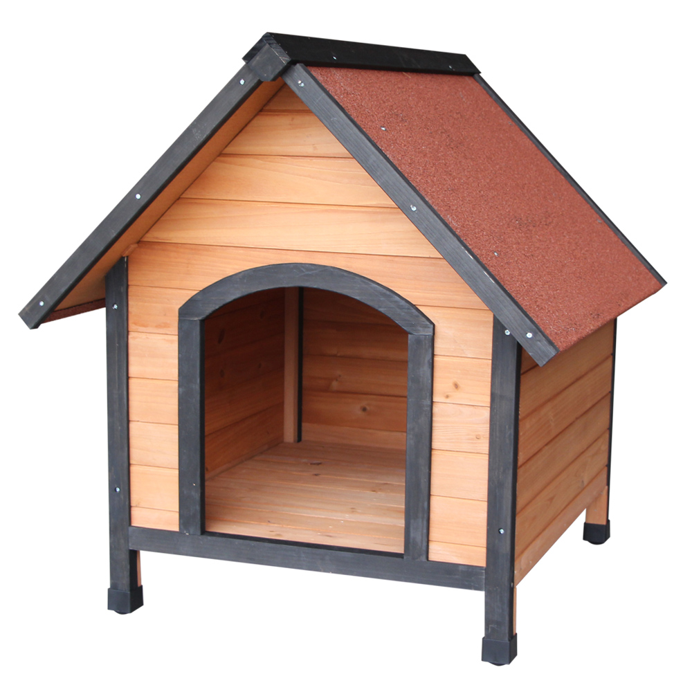 <font><b>Wooden</b></font> <font><b>Dog</b></font> House Outdoor Waterproof <font><b>Dog</b></font> <font><b>Kennel</b></font> For Small <font><b>Dogs</b></font> SKU09579554 image
