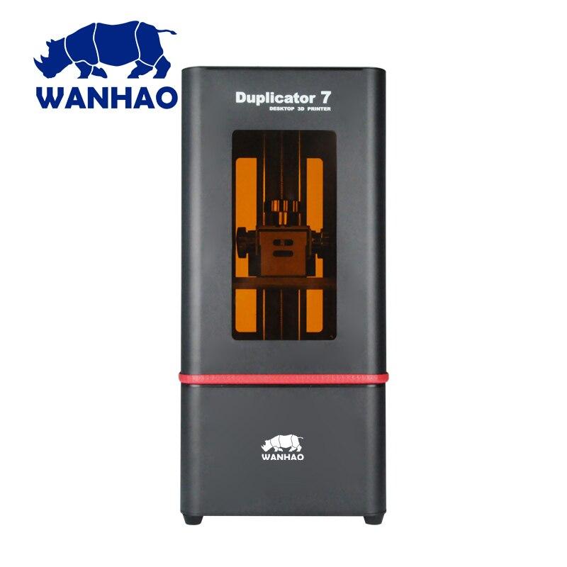 Wanhao duplicateur 7 UV résine 3d imprimante SLA/DLP 3D imprimante machine avec boîte de contrôle écran tactile LCD photopolymérisable haute précision