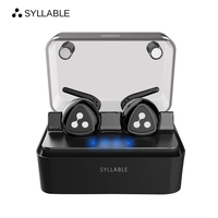 SYLLABLE D900MINI Bluetooth 4 1 Earphone Noise Reduction Bluetooth Headset For Mobile Phone Wireless Sports Bass