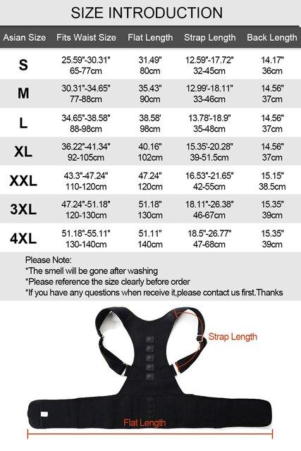 Aptoco Magnetic Therapy Posture Corrector Brace Shoulder Back Support Belt for Men Women Braces & Supports Belt Shoulder Posture 5
