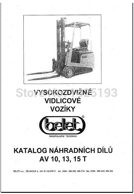 Belet ForkLift Spare parts catalog bd falcon catalog