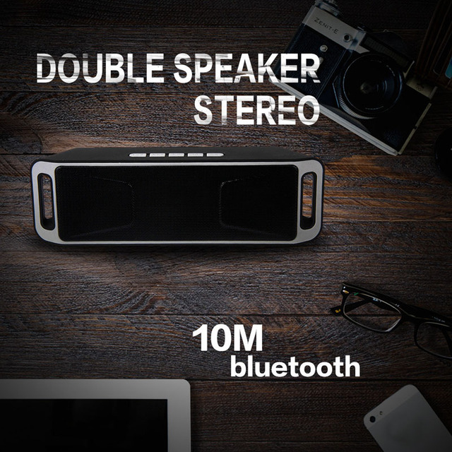 Puscard Ultra Bass Handsfree Wireless Bluetooth TF USB FM Speaker With HiFi Stereo Audio Music For Smartphone Tablet Laptop PC