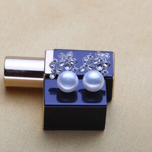 Image 2 - Wattens真珠ジュエリーウェディング婚約ジュエリーセット天然真珠ペンダントネックレス女性/スタッドピアス、花パーティーイヤリング