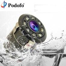 Podofo Full HD A Colori CCD Cam 170 Gradi Impermeabile Macchina Vista posteriore della Macchina Fotografica di Backup Con 8 Led Night Vision Parcheggio sistema