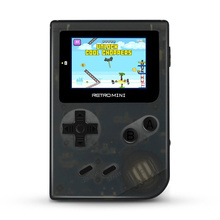 Cdragon Retro Portable Mini Handheld Game Console 8-Bit 3.0 Inch Color LCD Kids Player Built-in 168 games
