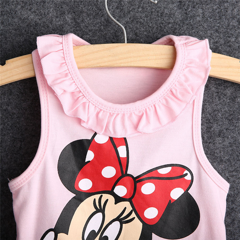 3e6a6fd5eeaa5 US $3.12 15% OFF|Minnie Mouse Dress Baby Girl Minnie DressKid Kitty Cat  Party Dresses Summer Dress Vestido Minnie Robe Fille Enfant 6M 5Y-in  Dresses ...