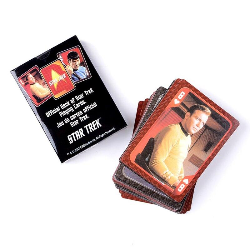 Zahlen Karten/Poker Star Trek Spiel Sammlung Karte Hohe Qualität 9*6 CM Spielkarten Disport Sammlung Spielzeug geschenk Für Kinder