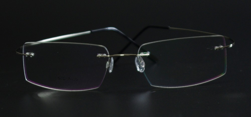 c19880021b Fashion Super Flex and Light Memory Titanium Rimless Eyeglasses Frames For Myopia  Lenses Reading Glasses. aeProduct.getSubject()