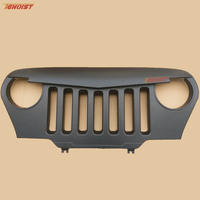 Car Styling Black ABS Racing Grille For Wrangler TJ 97 06