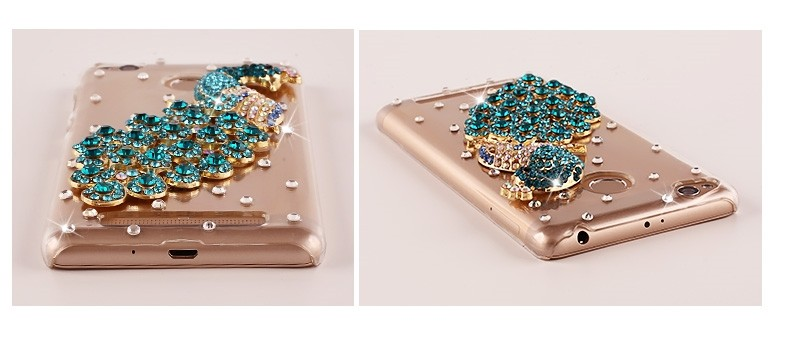 Case For Xiaomi Redmi 4X Cover Luxury Rhinestone Case For Xiaomi Redmi 4X Pro Case PC Hard Back Redmi 4 X Phone Cases Cover 5.0