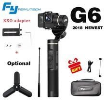 Feiyutech Feiyu G6 ручной 3 оси Бесщеточный Gimbal для gopro hero 3/4/5 6 RX0 стабилизатор для Xiaoyi 4 К AEE экшн-камер