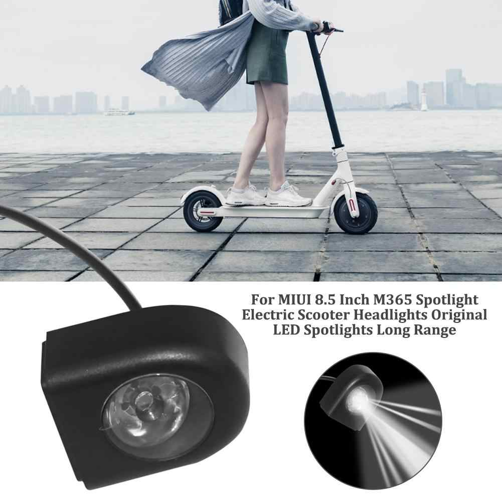 New Electric Scooter Spotlight Headlights Original LED Spotlights Long  Range For Xiaomi M365 Electric Scooter Accessories