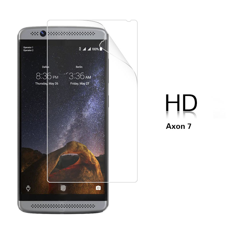 US $0 79 5% OFF|Anti Glare Matte Film For ZTE Nubia Axon 7 7 MAX 7 Mini  Axon 7s HD Clear Glossy Film With Cleaning Tools-in Phone Screen Protectors