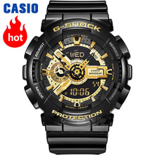 Casio часы Мужские G SHOCK золото взрыва топ брендов роскоши установить 200m водонепроницаемые спортивные часы кварцевые просмотрам LED relogio Цифровые Часы g шок военные Часы антимагнитные пара наручные часы reloj