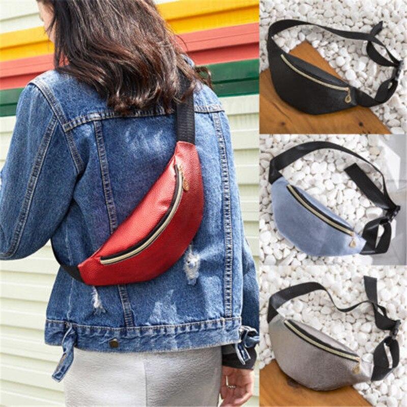 Casual Men Waist Bags Women Shoulder Bag Pouch Travel Canvas Belt Bag Fashion Unisex Waist Pack Men Waterproof Fanny Pack W3