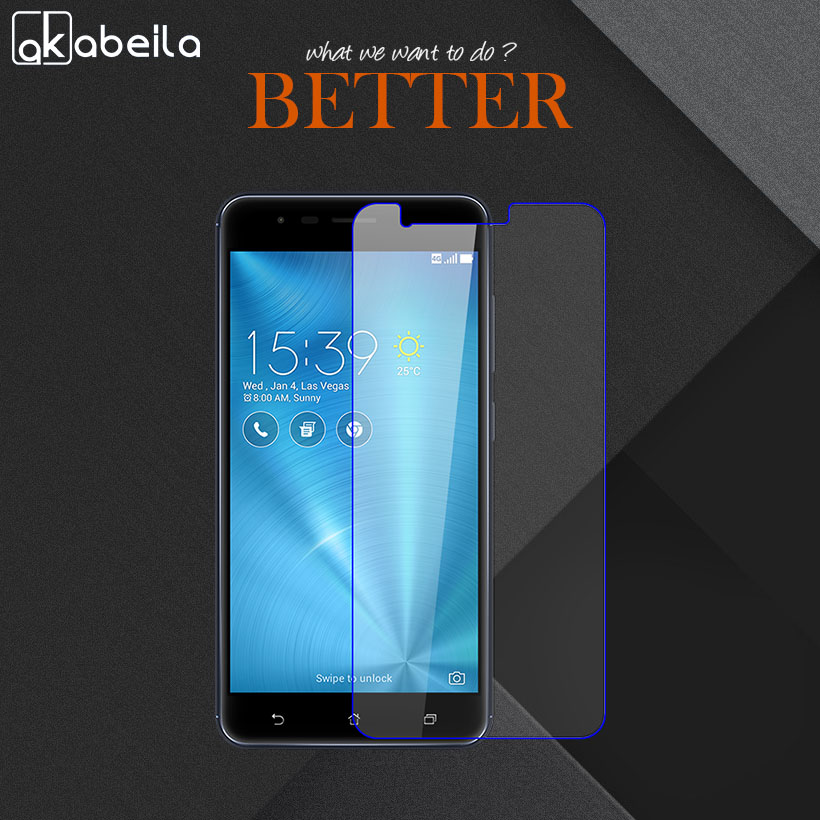 Akabeila 2pcs Phone Screen Protector Film For ASUS Zenfone 3 Zoom ZE553KL Z01HDA Asus ZenFone Zoom S Tempered Glass wholesale