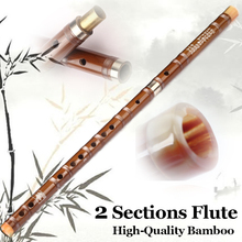2Sectons Traditional Bamboo Woodwind Chinese Dizi Flute Professional Flauta Musical Instruments Key C/D/E/F/G With Dimo Membrane