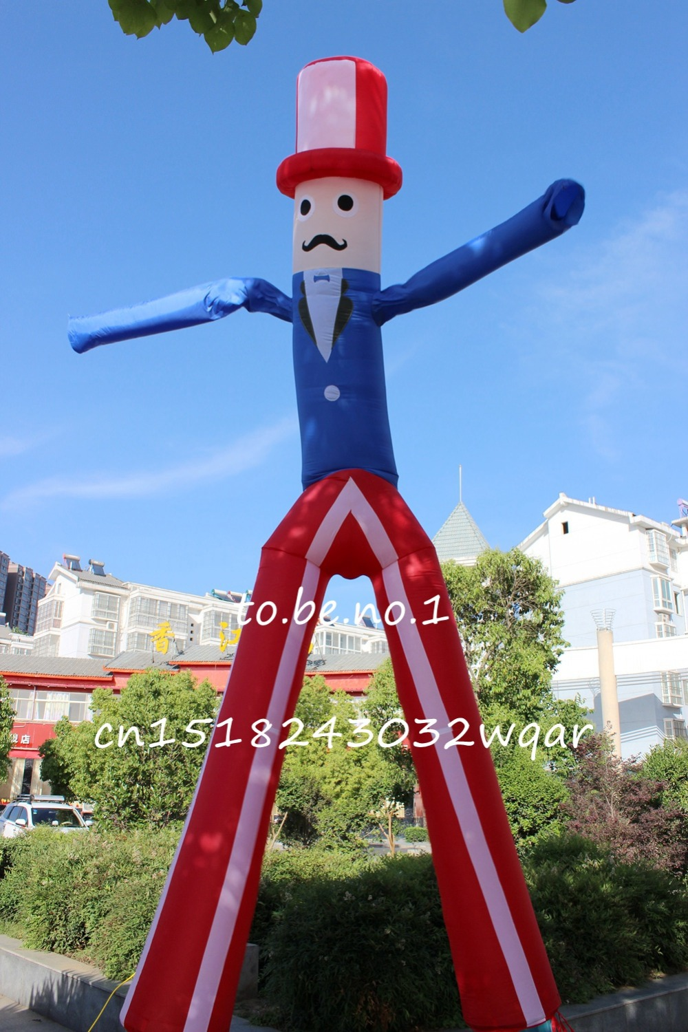 Sky Dancer Air Dancer Inflatable Toys 6M 20FT Inflatable Tube NO blower Inflatable Toys Shop ads sign S1006 цена и фото