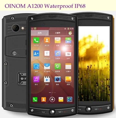Цена за Oinom LMV10 A1200 IP68 Смартфон 2 ГБ RAM 16 ГБ ROM Snapdragon 400 Msm8926 Quad Core 1.2 ГГц 13MP 3300 МАч 4 Г FDDLTE 4.5 Дюймов LMV7