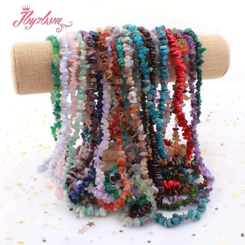 Perles en pierre naturelle: Fluorite corail grenat hématite puce perles irrégulières pour la fabrication de bijoux collier à faire soi-même Bracelet 4x5-5x7mm 15