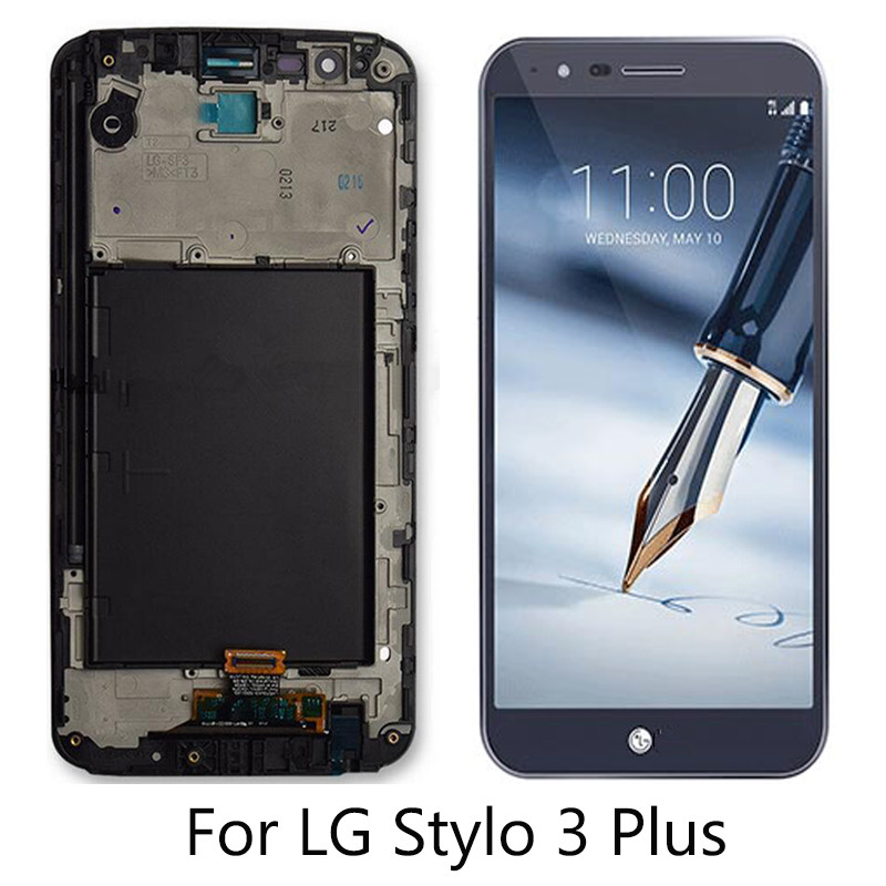 For, Screen, Stylo, Parts, LCD, Display