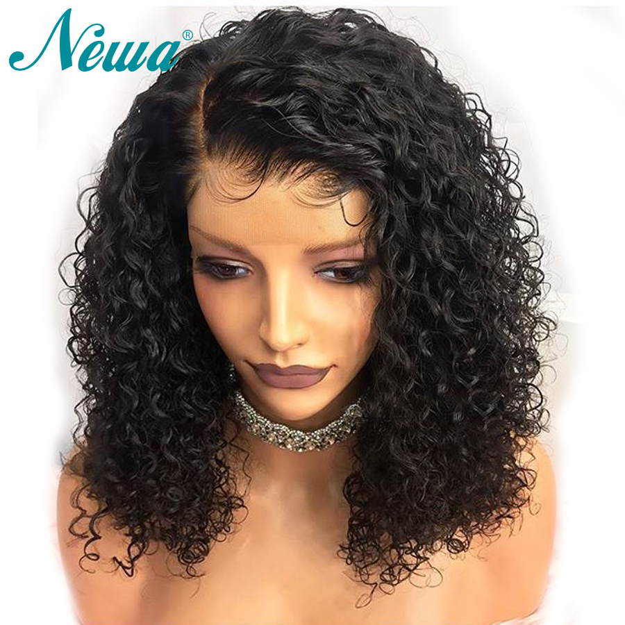 NYUWA 360 Lace Frontal Wig With Baby Hair Bleached Knots Brazilian Remy Hair Pre Plucked Natural