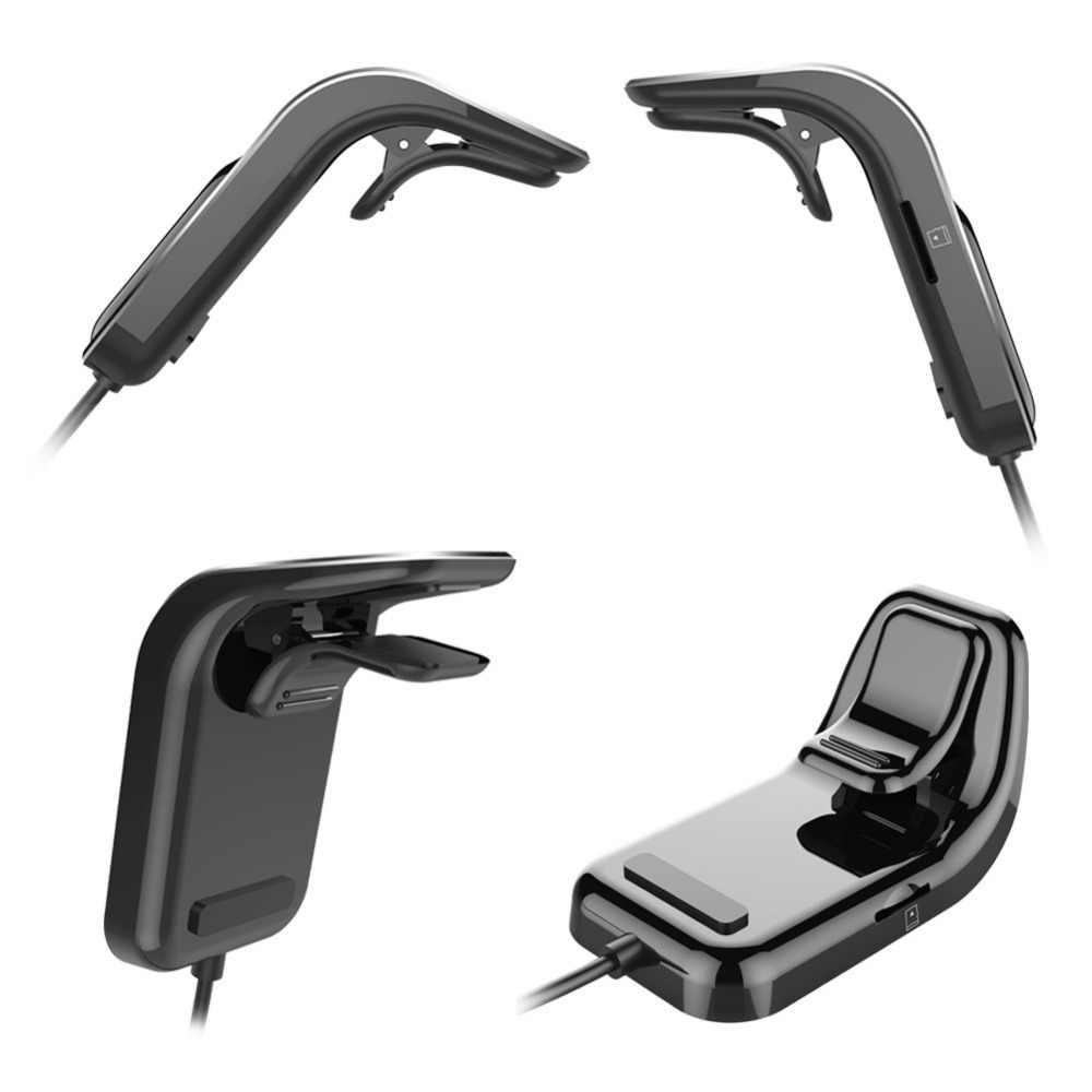 Transmisor FM Bluetooth coche inalámbrico adaptador de Radio AUX MP3 reproductor FM modulador con manos libres de habla Dual USB rápido cargador