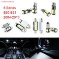 17pcs LED Canbus Interior Lights Kit Package For BMW 5 Series E60 E61 (2004-2010)