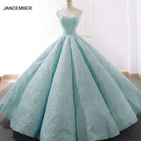 J66675 jancember 15 years quinceanera dress strapless ball gown floor length prom party dresses 2019 vestidos de quinceaneras