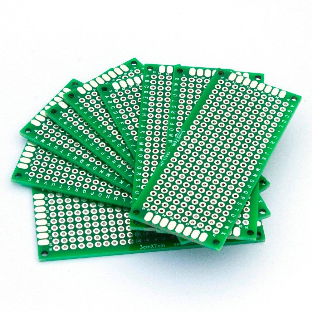 Mcigicm 150pcs Diy Prototype Paper Pcb Universal Experiment Matrix Copper Circuit Board 9x15cm