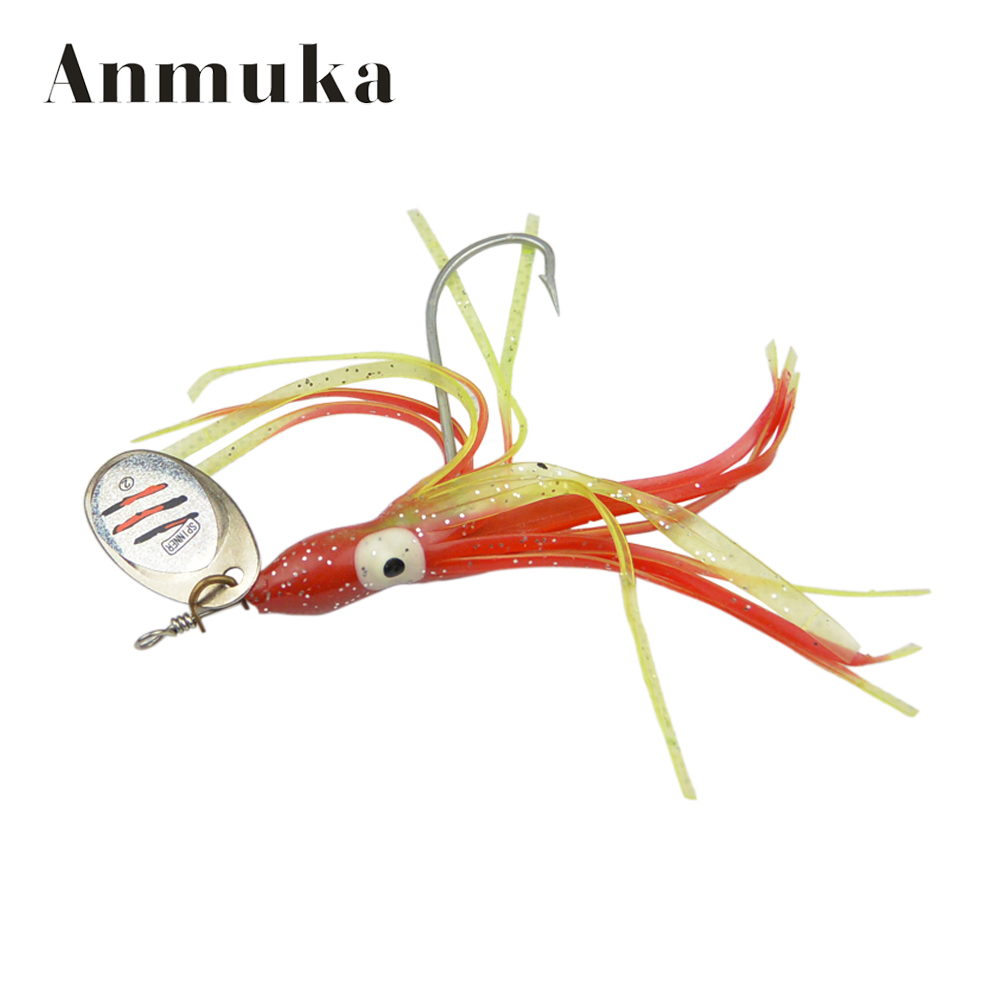 Anmuka new 11cm 7g hot sale fishing lures fishing spinner for Fishing tackle sale