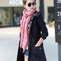 New Fashion Solid Women Scarf Pure Cotton Fold Scarves 10Colors 180*50CM Linen Women Shawl