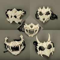 New The Japanese Dragon God Mask Eco friendly and Natural Resin Mask for Animal Theme Party Cosplay Animal Mask Handmade