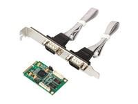 MINI PCI E RS232 Serial Card 9 Pin COM 2 Port Expansion Card Chip XR17V352 EXAR